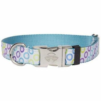 Country Brook Design® Premium Zocalo Ribbon Dog Collar Limited Edition