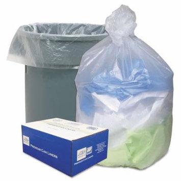 Ultra Plus 30 ga. Trash Bags (500 ct.) - Trash Bags, These liners are tough, high-density bags that help reduce environmental waste, Star seal bottom evenly distributes content weight.