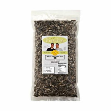 Raw Sunflower Seeds In Shell by Gerbs - 4 LBS - Top 12 Food Allergen Free & NON GMO - Vegan & Kosher - Product of USA