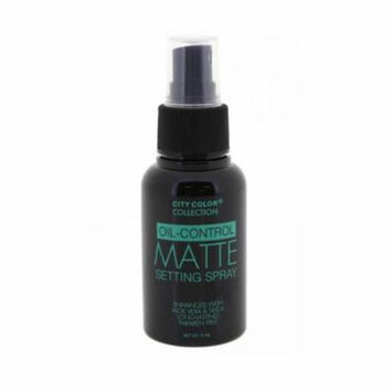 (6 Pack) CITY COLOR Oil Control Matte Setting Spray