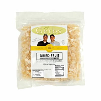 Dried Pineapple Cubed, Sweetened by Gerbs - 2 LBS - No Preservatives - Top 12 Food Allergen Friendly & NON GMO