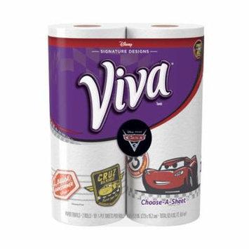 VIVA Signature Designs Choose-A-Sheet* Paper Towels, Print, Big Roll, 2 Rolls