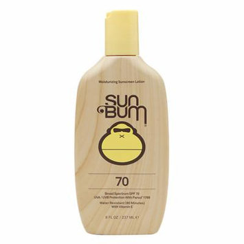 Sun Bum Water Resistant Moisturizing Sunscreen Lotion SPF 70 8.0 oz.(pack of 2)