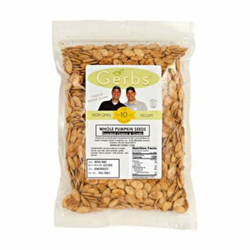 Toasted Onion & Garlic Pumpkin Seeds In Shell by Gerbs - 2 LBS - Top 12 Food Allergen Free & NON GMO - Vegan & Kosher
