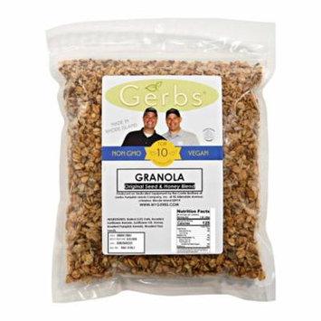 Original 3 Seed n' Honey Granola by Gerbs - 4 LBS - Top 12 Food Allergen Free & NON GMO - Made in Rhode