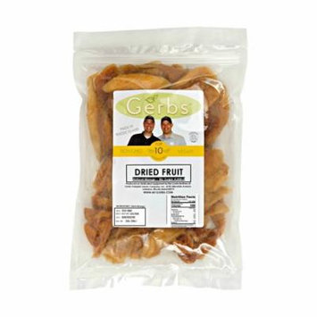 Dried Mango, No Sugar Added by Gerbs - 2 LBS - No Preservatives - Top 12 Food Allergen Friendly & NON GMO