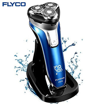Flyco Electric Shavers for Men Women Ladies Rechargeable Power Series Rotary Shavers, Men's Electric Razor, Dry Wet Face Legs