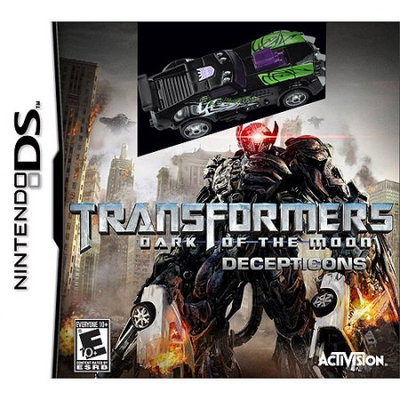 Activision Blizzard Inc 84164 DS Transformer Dark of the Moon Decepticons with Toy
