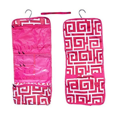 Best Large Pink Paisley Hanging Cosmetic Toiletry Bag Case Shower Caddy Last Minute Unique Cool Birthday Great Christmas Clearance Deal Gift... [Style 13]