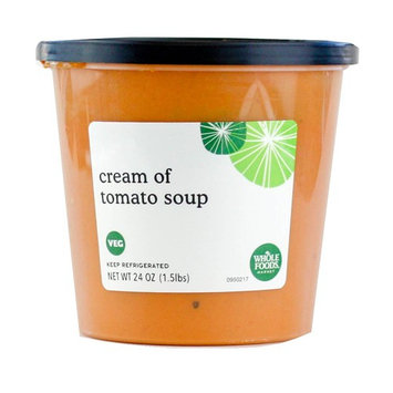 Whole Foods Market, Cream of Tomato Soup, 24 oz
