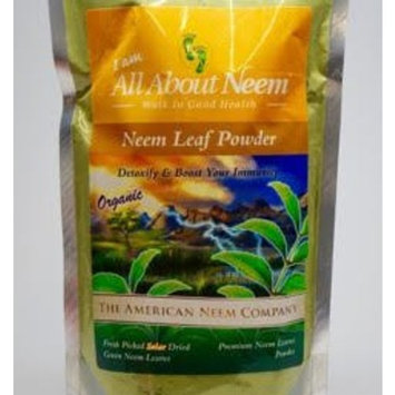 Neem Leaf Powder, Pure, Bulk, Fresh Cut (1 Lb) Make Your Own Capsules - Natural Raw Herb Super Food Supplement - For Healthy Skin, Detox, Healthy Hair, Stimulating the Immune System and More!