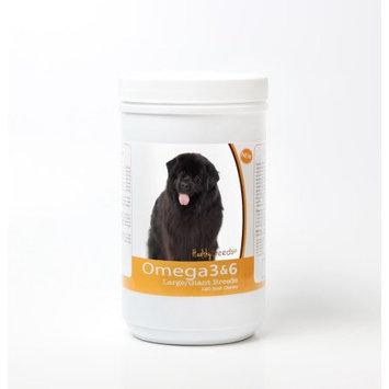 Healthy Breeds 840235143437 Newfoundland Omega 3 & 6 Soft Chews - 120 Count