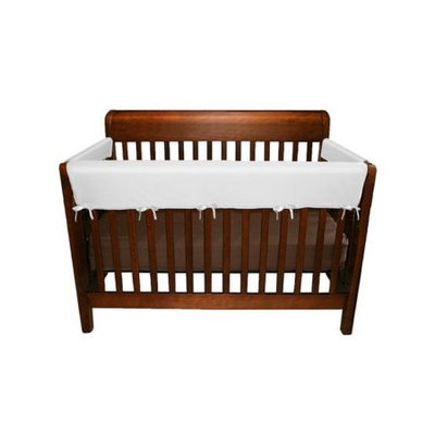 Jolly Jumper - 3 Piece Soft Rail for Convertible Cribs - White and Champaine