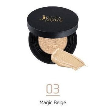 BABALAH BEE WAX CUSHION MAGIC PERFECT COVER CUSHION SPF 47 PA++ #NO.03 Magic Beige, 10G. [GET FREE BEAUTY GIFT] by Madam A
