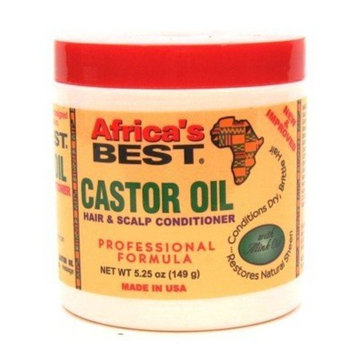 Africa's Best Castor Oil 5.25 oz. (3-Pack) with Free Nail File