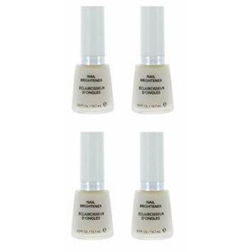 Revlon Nail Brightener Base Coat (4 Pack) + FREE FREE Schick Slim Twin ST for Sensitive Skin