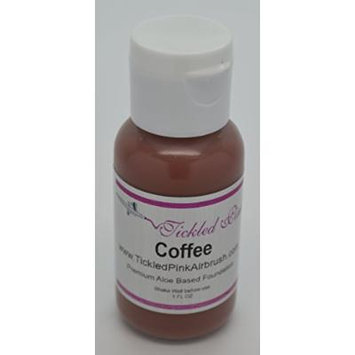 Tickled Pink Airbrush Aloe Foundation - Coffee (1OZ)