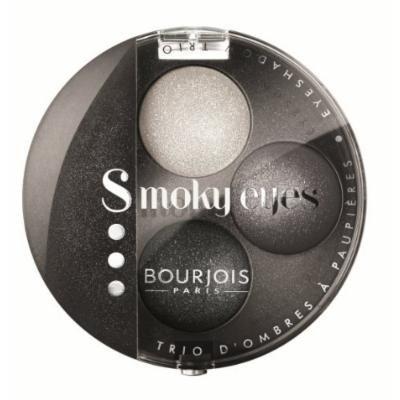 Bourjois Smokey Eyes Eye Shadow for Women, Trio # 16 Gris Party, 0.15 Ounce by Bourjois