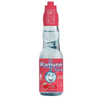 Ramune Japanese Marble Style Soda (Apple, 6 Bottles)