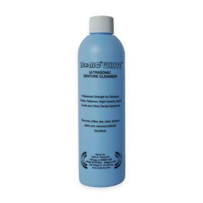 iSonic White Ultrasonic Denture Cleaning Powder