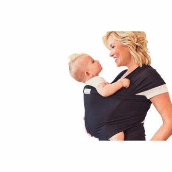Seven Sling Baby Infant Wrap Carrier Multiple Ways 8-35 Lbs -Black-