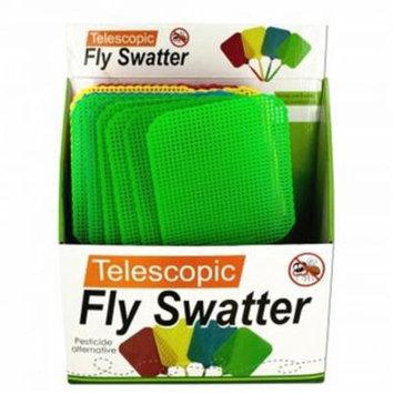 Bulk Buys OS184-24 Giant Telescopic Fly Swatter Display - 24 Piece