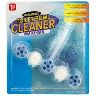 Bulk Buys HX169-60 Automatic Toilet Bowl Cleaner Rim Hanger, 60 Piece