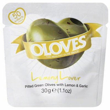 Oloves Lemony Lover Olives, 1.1 oz, (Pack of 10)