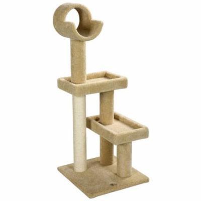 Go Pet Club LP-801 Carpeted Cat Tree - Beige