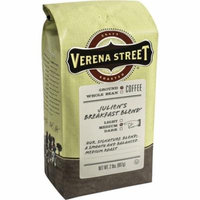 Verena Street Julien's Breakfast Blend Ground, 2lbs