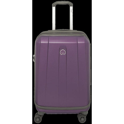 Delsey 21 Carry-On Expandable Spinner Luggage - Purple