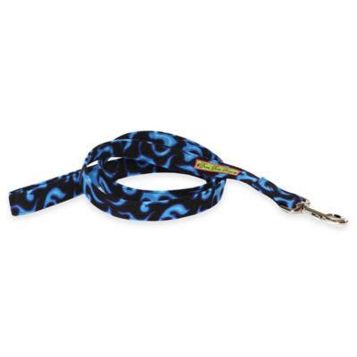Donna Devlin Designs® 60-Inch Blue Flame Dog Leashes in Blue/Black