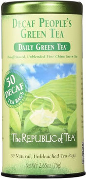 The Republic of Tea - The People's Green Decaf - 50 Tea Bags
