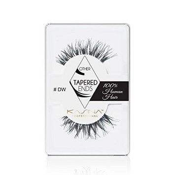 KASINA Professional False Eyelashes #DW Demi Wispies Tapered Ends Lashes in 100% Human Hair, Version of Ardell Red Cherry, Pack of 6 [Professional False Eyelashes #DW Demi Wispies Tapered Ends Lashes in 100% Human Hair]
