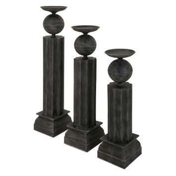 Imax Corporation Clarimond Large Metal Candle Stand