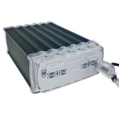 BUSlink CSX4TSSDRU3 4TB RAID CipherShield AES 512-bit key USB 3.0 eSATA SSD Desktop Drive