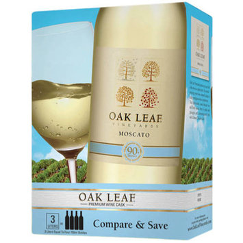 Oak Leaf Moscato Wine, 3 L