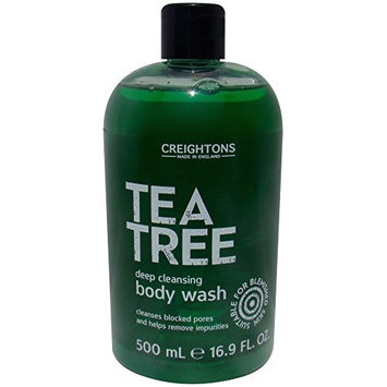 Creightons Tea Tree Deep Cleansing Body Wash for Blocked Pores 16.9 oz