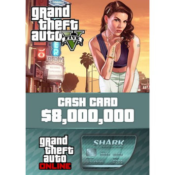 Rockstar Games Grand Theft Auto V + Megalodon Shark Card Bundle (PC)(Digital Download)