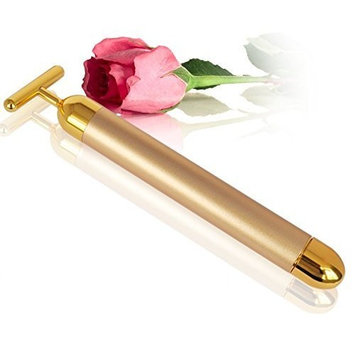 Carer 24k Golden Sonic Pulse Facial Massager Waterproof Beauty Bar