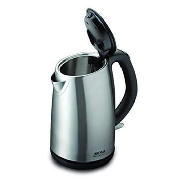 AROMA Kettles 7-Cup Cordless Electric Kettle in Polished Stainless Steel AWK-272SB