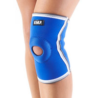 Black Mountain Products Knee Brace Blue M Breathable Neoprene Knee Brace, Blue - Medium
