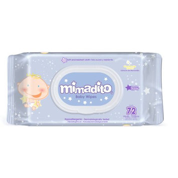 Excelcare Products Mimadito Baby Wipes Chamomile