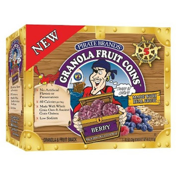 Pirate's Booty Granola Fruit Loot Berry 5-pk