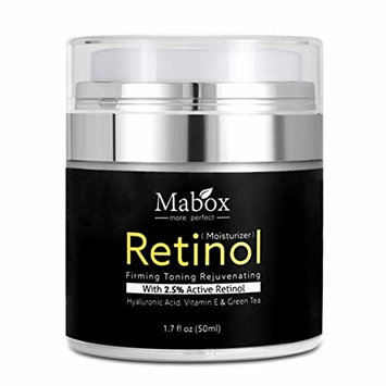USHOT Retinol Moisturizer Cream For Face and Eye Area 1.7 Oz With Retinol Hyaluronic A