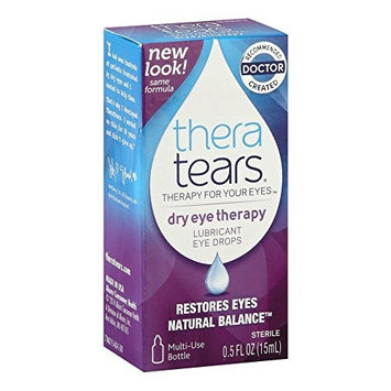 2 Pack - TheraTears Lubricant Eye Drops 0.50oz Each