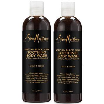 SheaMoisture African Black Soap Body Wash   13 oz   Pack of 2