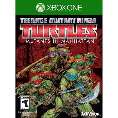Activision Teenage Mutant Ninja Turtles: Mutants Take Manhattan - Pre-Owned (Xbox One)