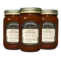 J. Wilbur Foods 193103S Spicy Hickory Barbeque Sauce - Pack of 3