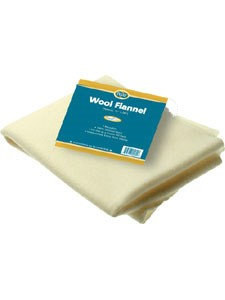 Baar Product's Wool Flannel for Castor Oil packs 1 pkt by Baar Products